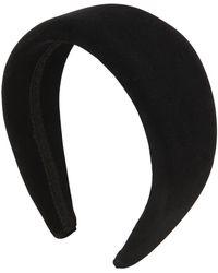 Ca&Lou - Anastasia Velvet Effect Headband - Lyst