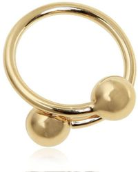 JW Anderson - Small Double Ball Ring - Lyst