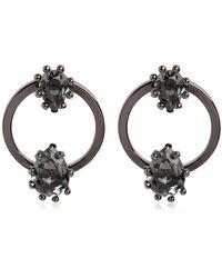 DSquared² - Treasure Hoop Earrings - Lyst