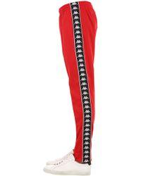 Kappa - Banda Astoria Slim Fit Trousers - Lyst