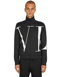 Valentino - Vltn Zipped Jacket - Lyst