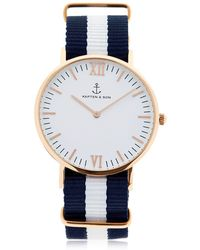 KAPTEN & SON - 40mm Sail Watch - Lyst