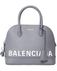 Balenciaga - Small Ville Textured Leather Bag - Lyst