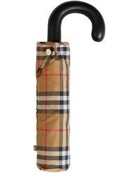 Burberry Parapluie À Carreaux Vintage - Multicolore
