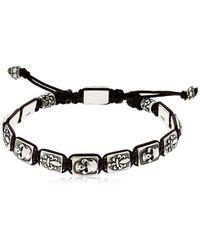 Cantini Mc Firenze - Florentine Silver Bracelet - Lyst