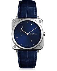 Bell & Ross | Brs S Diamond Eagle Steel Watch | Lyst