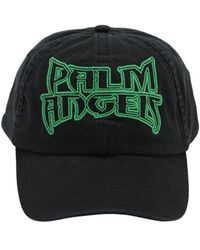 Palm Angels Cappello Baseball In Cotone - Nero