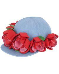 Francesco Ballestrazzi - Baseball Hat W/ Rose Appliqués - Lyst