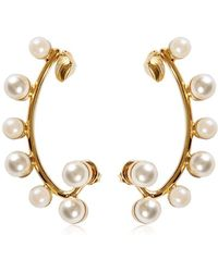 Elie Saab - Earring With Pearls - Lyst