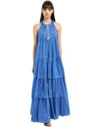 Yvonne S - Layered Cotton Voile Maxi Dress - Lyst