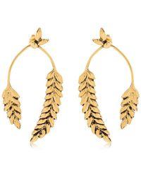 Aurelie Bidermann - Wheat Earrings - Lyst
