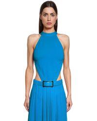 Elie Saab - Lvr Edition Open Back Knit Bodysuit - Lyst