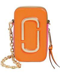 Marc Jacobs - Hotshot Saffiano Leather Shoulder Bag - Lyst