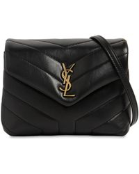 Saint Laurent - Toy Loulou Monogram Quilted Leather Bag - Lyst