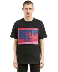 CALVIN KLEIN 205W39NYC - Electric Chair Compact Jersey T-shirt - Lyst