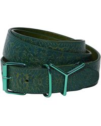 Y. Project - 35mm Embossed Leather Printed Belt - Lyst