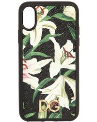 Dolce & Gabbana - Lily Print I Phone X Cover - Lyst