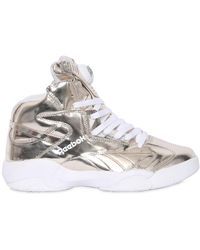5865558af08 Lyst - Reebok Shaq Attaq Fashion Sneaker in White for Men