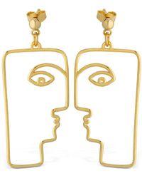 Nina Kastens Jewelry - Bean Earrings - Lyst