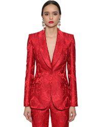 Dolce & Gabbana - Angels Jacquard Blazer - Lyst