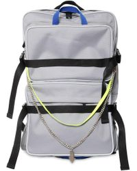 ADER error - Tech Canvas Backpack W/ Straps - Lyst
