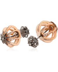 Colette - Galaxia Star Cage Reversible Earrings - Lyst