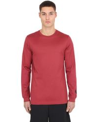 """Nike - T-shirt """"lab Essentials"""" Maniche Lunghe - Lyst"""