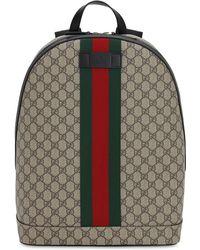 Gucci - Rucksack Aus Gg Supreme-logo - Lyst