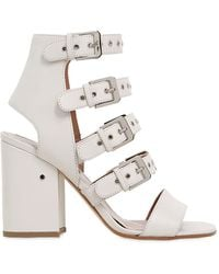 Laurence Dacade | 90mm Kloe Buckles Leather Sandals | Lyst