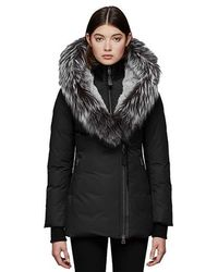 Mackage - Teena-x Mid Length Lux Winter Down Coat With Fur-lined Hood Szl162 Col150 - Lyst