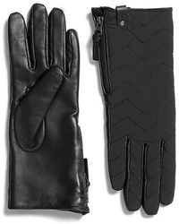 Mackage - Piner Quilted Leather Gloves For Women - Lyst