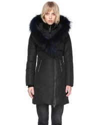 Mackage | Kay-f Mid Length Winter Down Coat With Fur Collar | Lyst