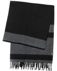 Mackage - Lazio Extra Long Stripped Wool Scarf - Lyst