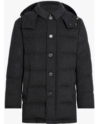 Mackintosh - Charcoal Storm System Wool Down Jacket Gd-001 - Lyst