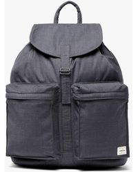 Mackintosh - Charcoal Storm System Wool Porter Back Pack - Lyst
