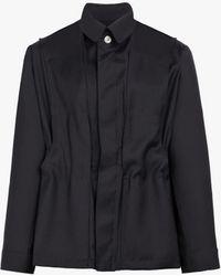 Mackintosh - Black Wool 0002 Double Layer Jacket - Lyst