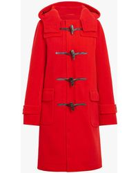 Mackintosh - Red Wool Blend Duffle Coat Lm-007s - Lyst