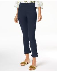 INC International Concepts - I.n.c. Curvy Ruffled-hem Ankle Skinny Pants, Created For Macy's - Lyst