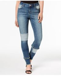 INC International Concepts - I.n.c. Patchwork Skinny Jeans, Created For Macy's - Lyst