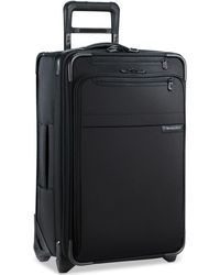 "Briggs & Riley - Baseline 22"" Expandable Wheeled Carry-on Suitcase - Lyst"