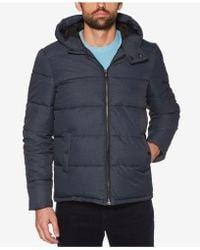 Original Penguin - Melange Puffer Jacket - Lyst