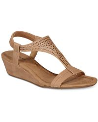 Alfani - Vacanzaa Wedge Sandals, Created For Macy's - Lyst
