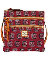 Dooney & Bourke - South Carolina Gamecocks Triple-zip Crossbody Bag - Lyst