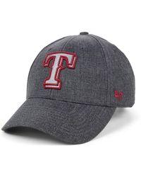 d8c2c27efb0 Lyst - 47 Brand Women s New York Rangers Fiona Pom Knit Hat in Blue ...