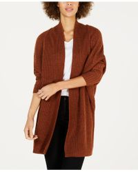 Style & Co. - Dolman-sleeve Long Cardigan Jumper, Created For Macy's - Lyst
