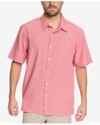 Quiksilver - Waterman Cane Island Shirt - Lyst