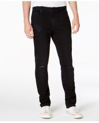 American Rag - Slim-fit Stretch Destroyed Jeans, Created For Macy's - Lyst