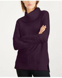 Calvin Klein - Cowl-neck Sweater - Lyst