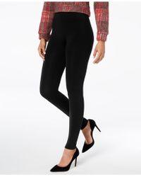 Hue - ® Brushed Fleece Lined Seamless Leggings - Lyst