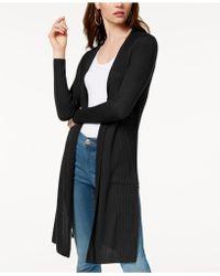 INC International Concepts - Rib-knit Duster Cardigan - Lyst